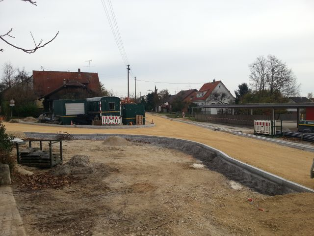 Kreuzung Nürtinger Strasse / Aicher Strasse