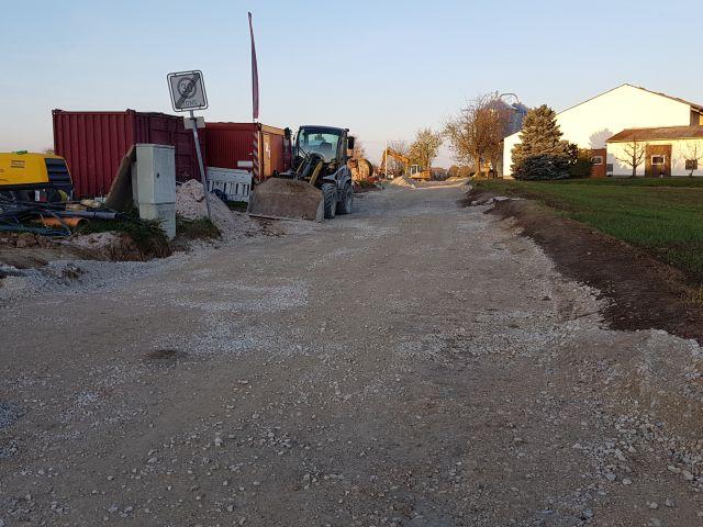 Fortsetzung Aicher Straße